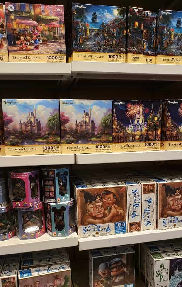 Disney Puzzles at Once Upon a Toy
