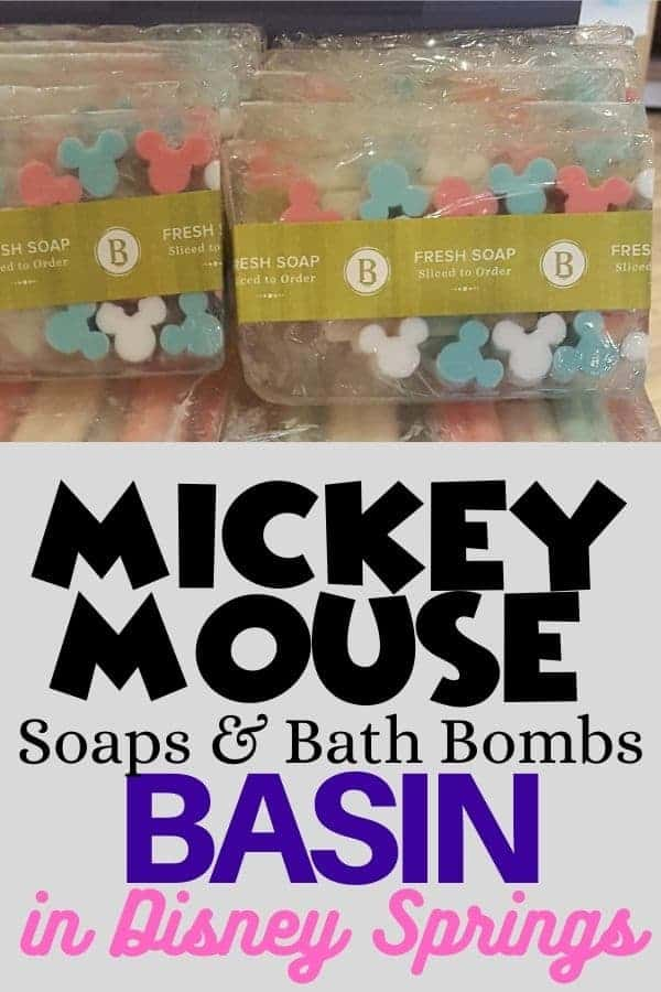 Disney Soaps & Bath bombs at Basin