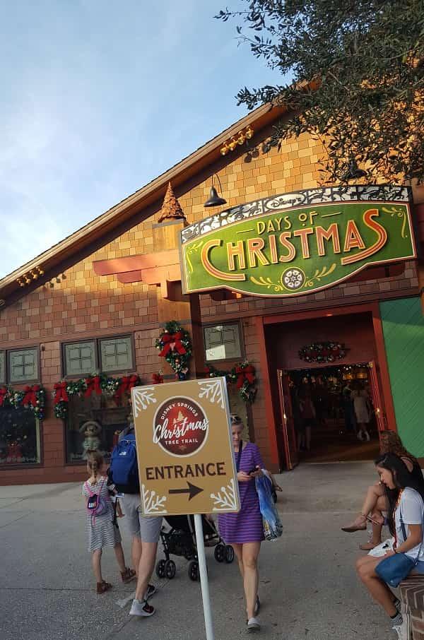 Disney Springs Christmas Store