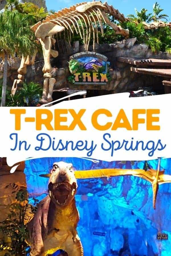 T-Rex Cafe Dinosaur Restaurant in Disney Springs