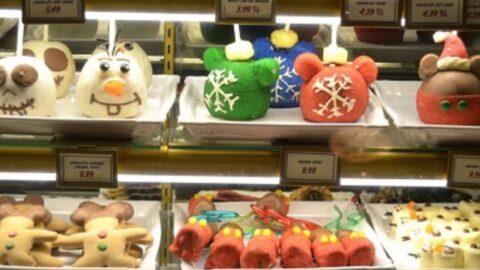 Disney Christmas Treat Display