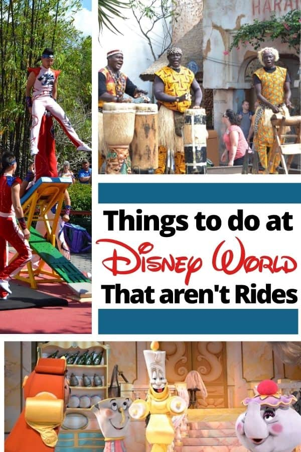Things to do at Disney World that aren't Rides