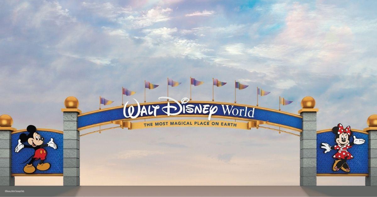 Disney World Park Entrance