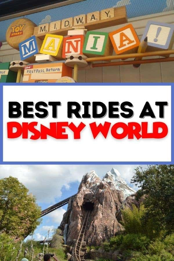 10 Best Rides at Disney World