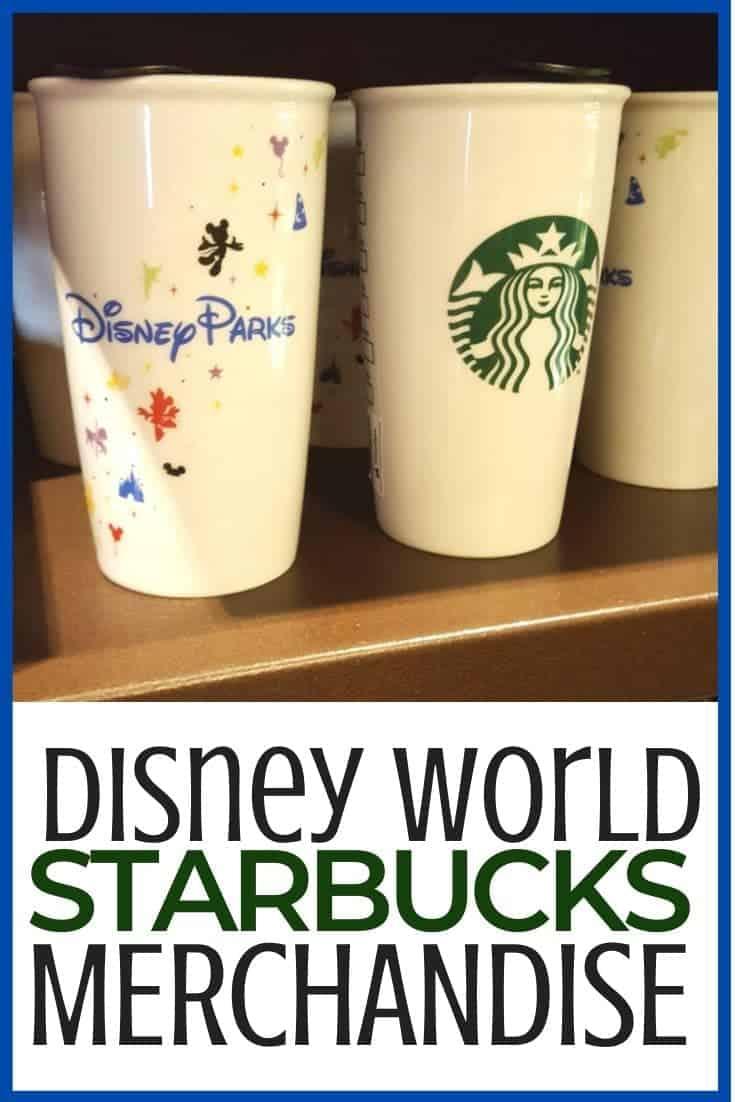 Disney World Starbucks Merchandise