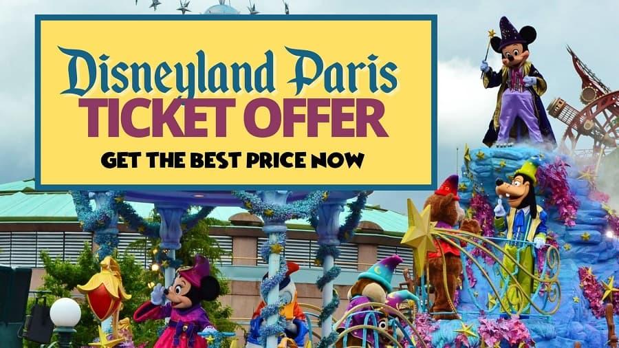 Disneyland Paris Ticket Deals