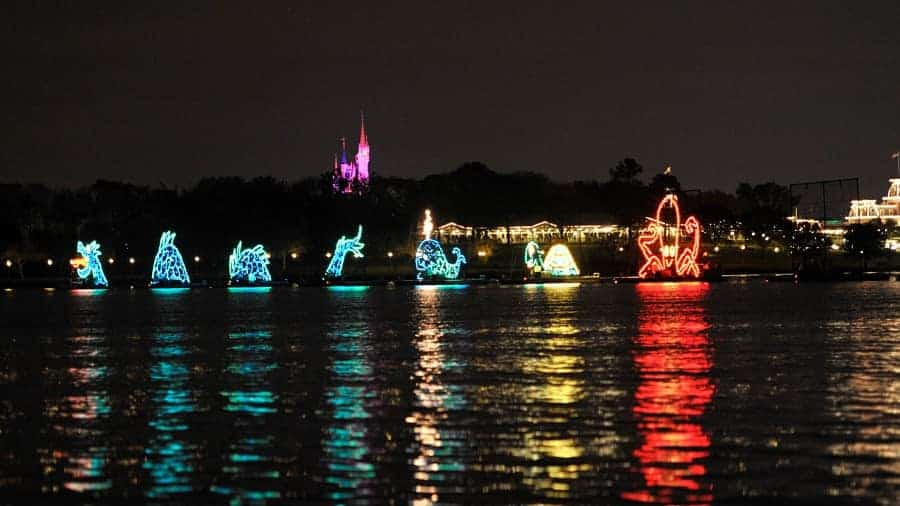Electrical Water Pageant at Disney World