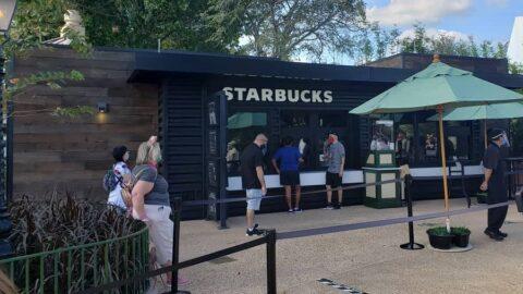 Starbucks at EPCOT