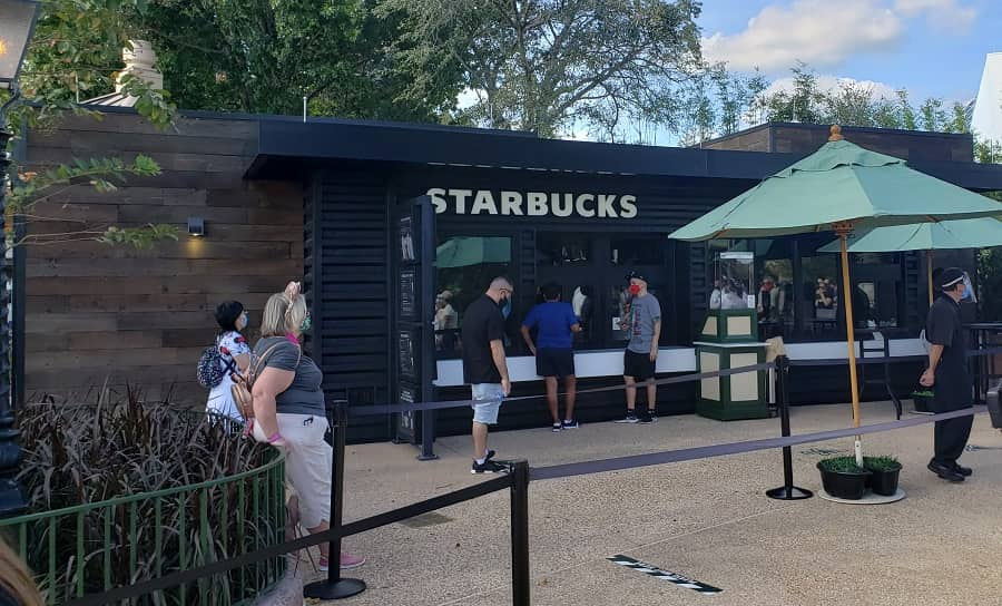 Starbucks at EPCOT