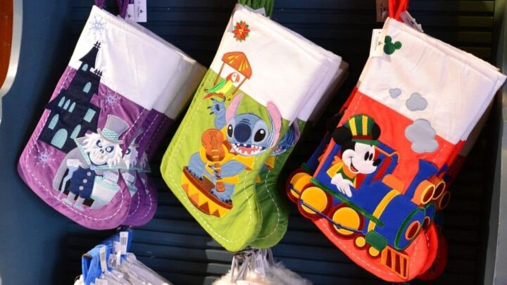 Favorite Disney Christmas Stockings