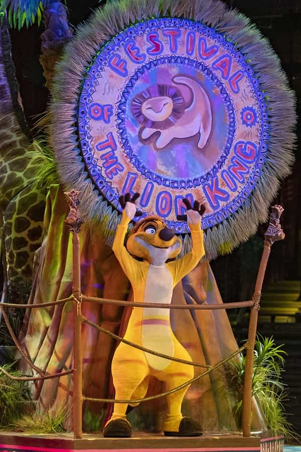 Timon in Festival of the Lion King