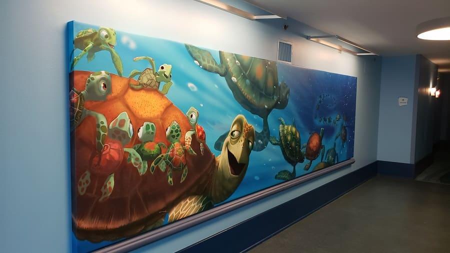 Inside Finding Nemo Resort