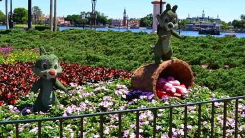 Disney Topiaries Chip & Dale