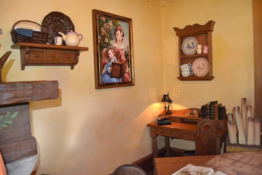 Inside Belle's Cottage