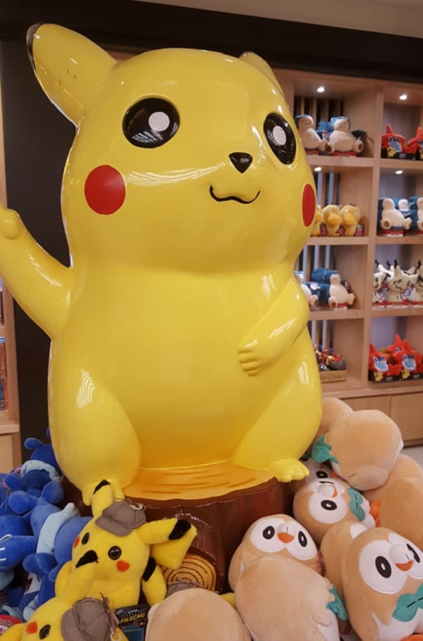 Pokemon Display in Mitsukoshi Department Store