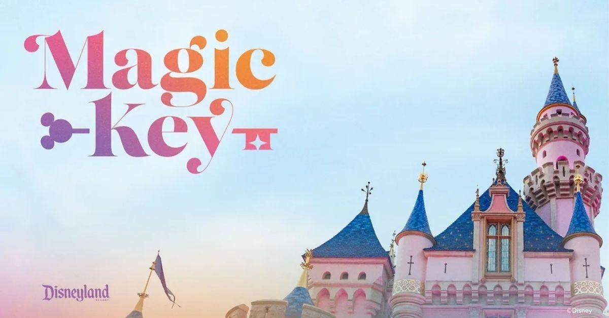 Disneyland Magic Key Pass