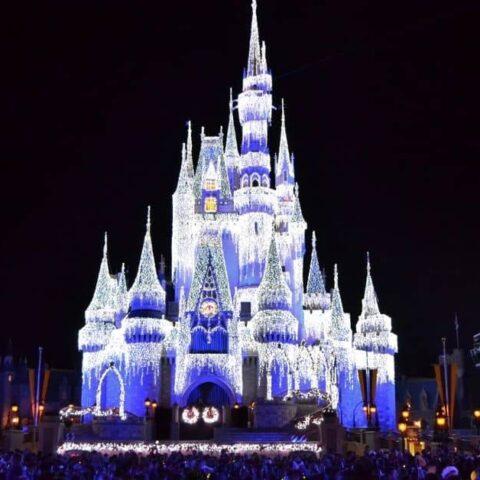 Cinderella Castle in December