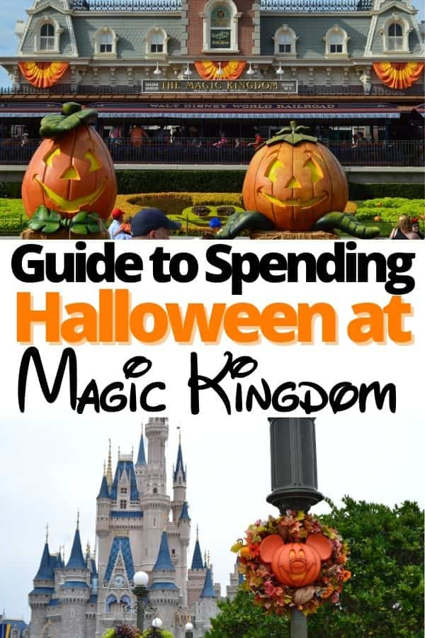 Spending Halloween in Magic Kingdom