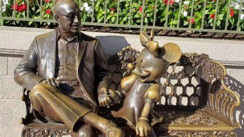 Magic Kingdom Minnie Statue