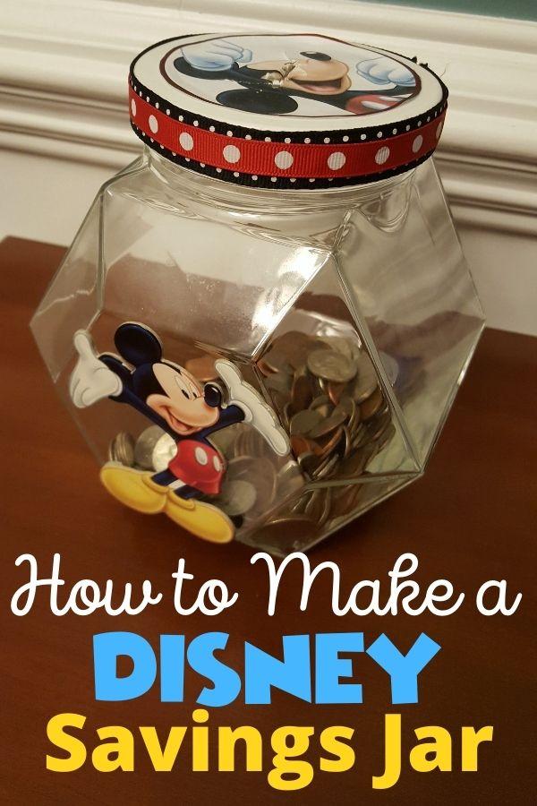How to Make a Disney Savings Jar