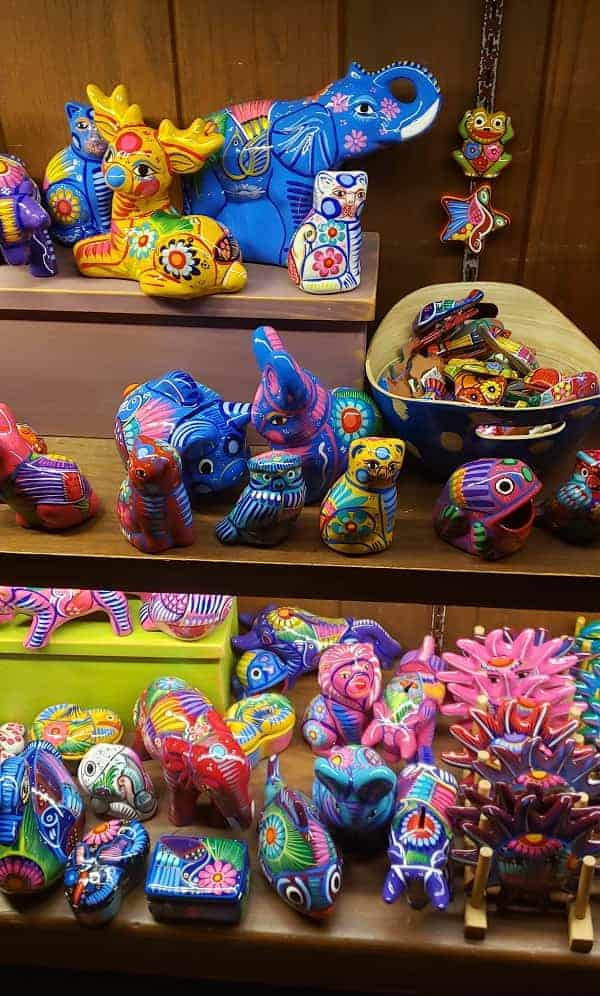 Souvenirs in Mexico Pavilion
