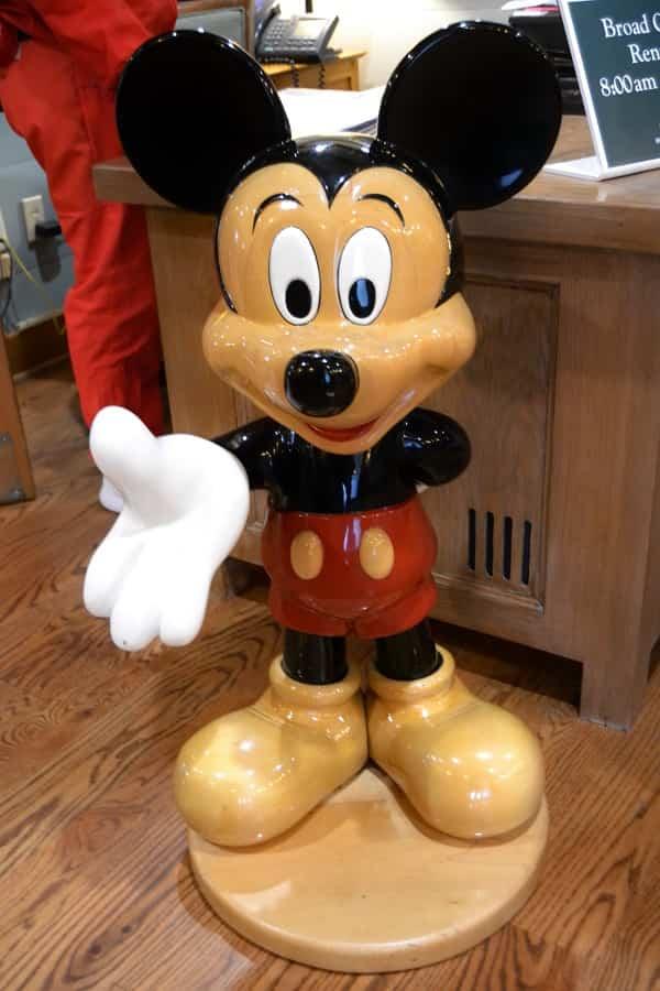 Mickey Mouse Statue in Hilton Head