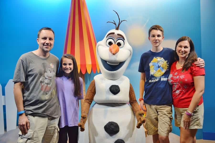 Olaf Meet & Greet