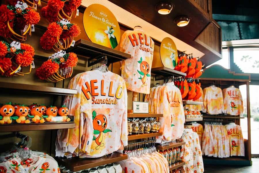 2021 Orange Bird Merchandise at EPCOT