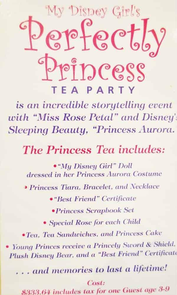 Perfectly Princess Tea Party