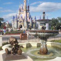 Pinocchio Statue at Disney World