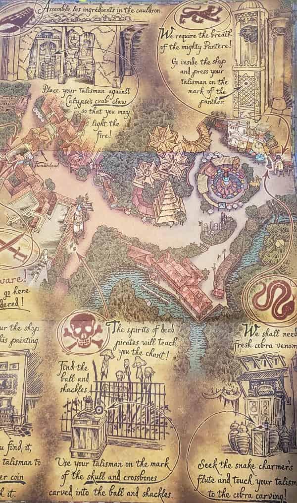 Pirate's Adventure Map