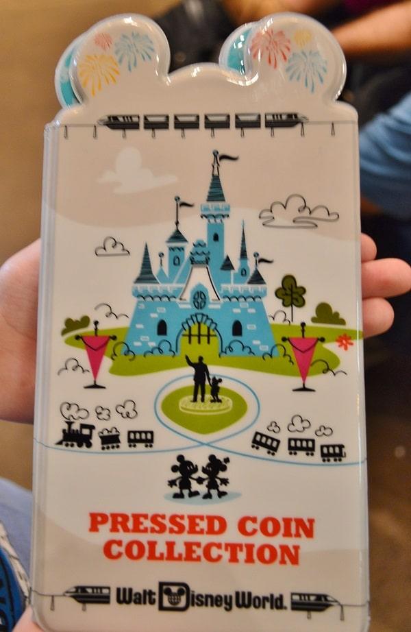Disney Pressed Penny Book