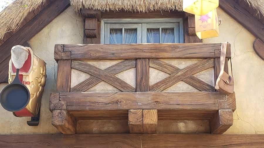 Rapunzel village details