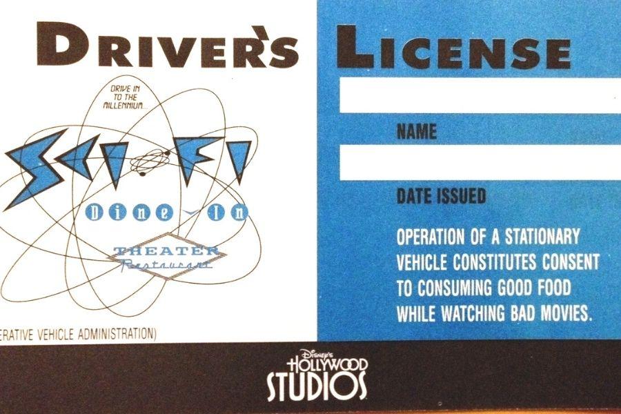 Free Drivers License Souvenir