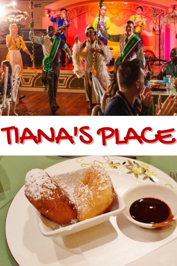 Tiana's Place on the Disney Wonder