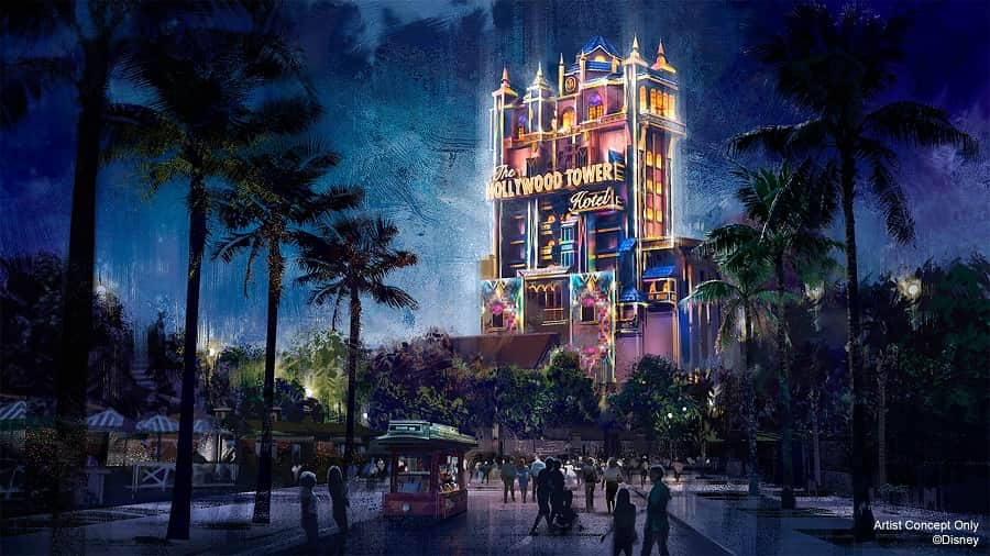 Tower of Terror 50th Look