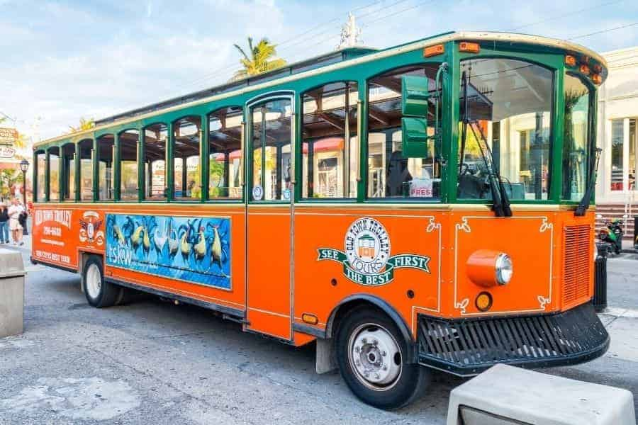 Trolly Tour of Key West